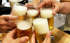 飲み会(乾杯!)